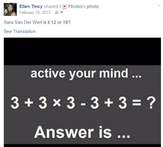 ellens math question