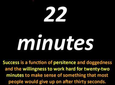 22 min definition