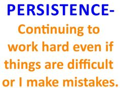 define persistence