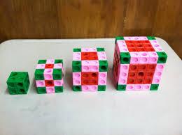 paited cube