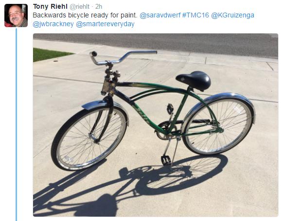 backwards bike tweet