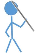 hold meter stick