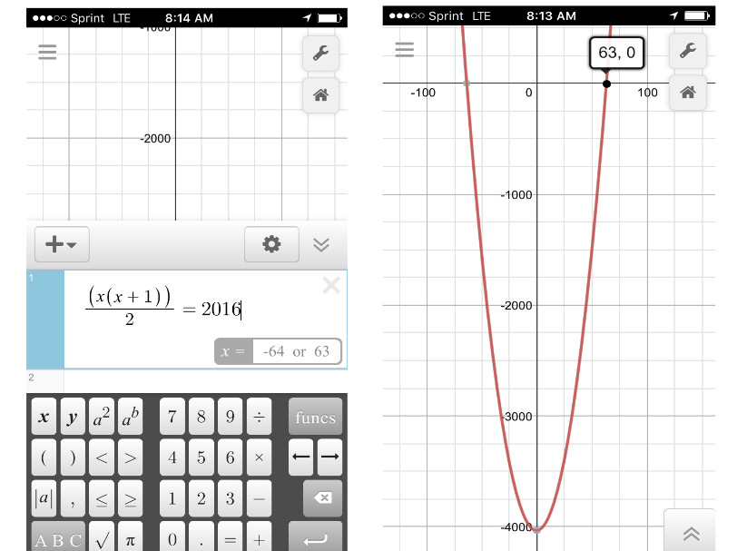 footballs-on-desmos
