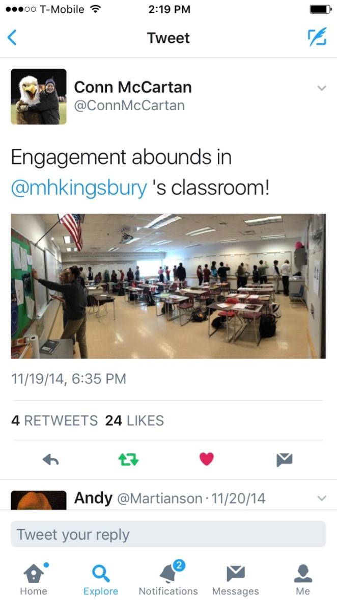principal tweet